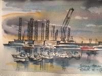 Esbjerg havn 3 (24x34)