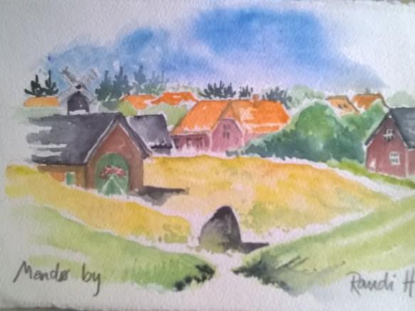 Mandø by (25x17)